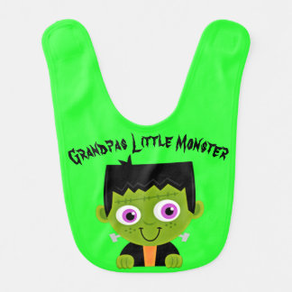 Grandpas Little Monster Bib