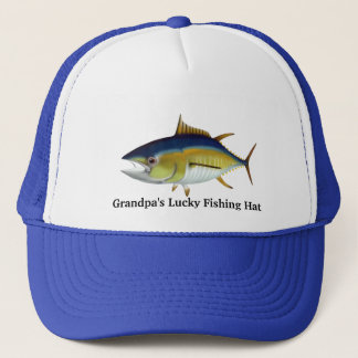 Grandpa's Lucky Fishing Hat