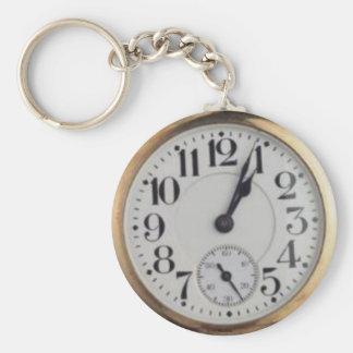 Grandpa's Pocket Watch Keychain