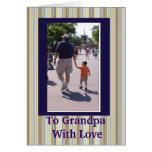 GRANDPA'S POEM GREETING CARD