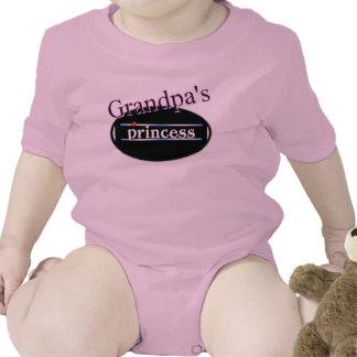 Grandpa's Princess Baby Outfit Creeper
