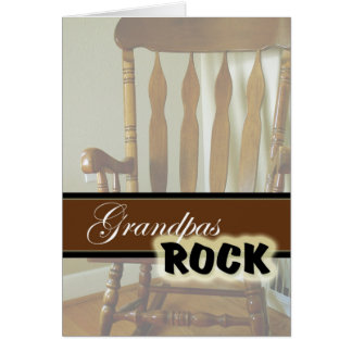 Grandpas Rock-Happy Grandparents Day Greeting Card