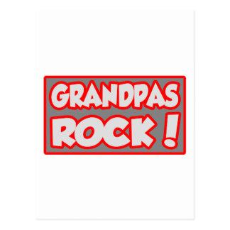 Grandpas Rock Postcard