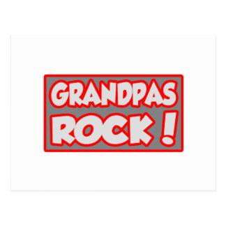 Grandpas Rock! Postcard