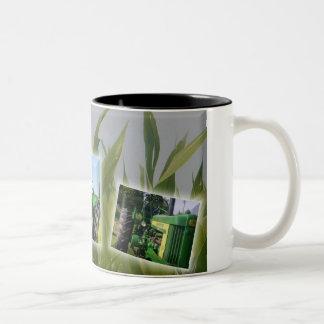 Grandpa's Tractor Two-Tone Coffee Mug