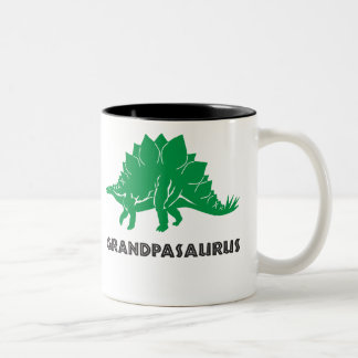 Grandpasaurus Stegosaurus dino grandpa mug cup