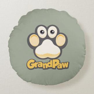 """Grandpaw Round Throw Pillow (16"""")"""