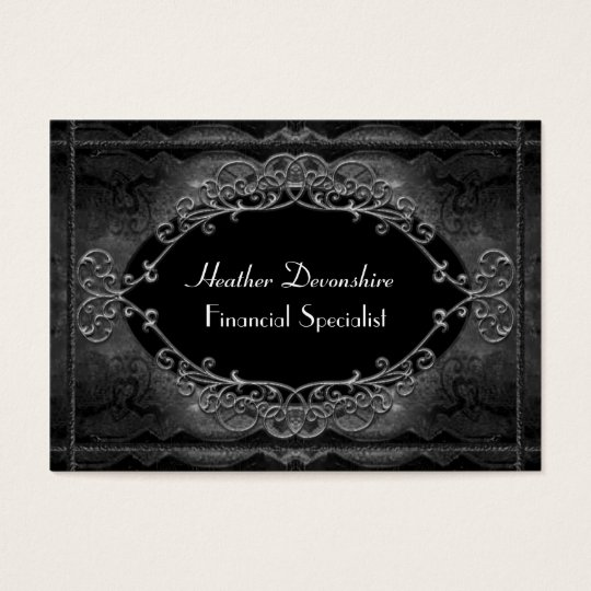 Grandpointe Shadow Vintage Professional Business Card