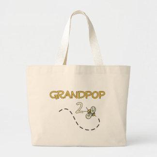 Grandpop 2 Bee Tote Bags