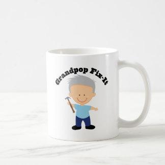 Grandpop Fix It Basic White Mug