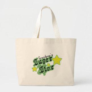Grandpop s Super Star Canvas Bag