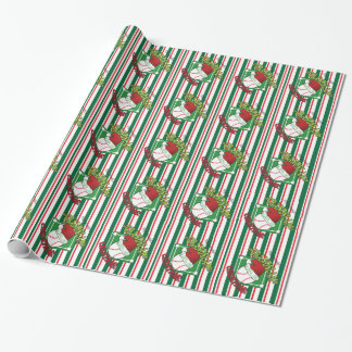Grandslam Baseball Christmas Wrapping Paper