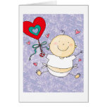 Grandson 1st Valentine's Day- Greeting Card