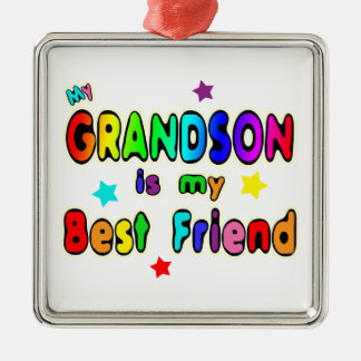 Grandson Best Friend Christmas Ornament
