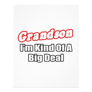 Grandson...Big Deal Flyer Design