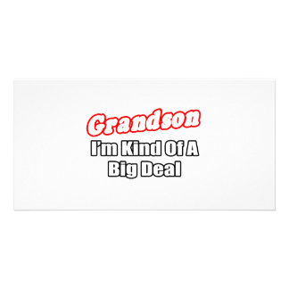 Grandson...Big Deal Personalized Photo Card