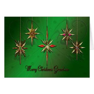 Grandson Christmas card