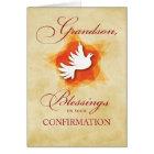 Grandson, Confirmation Congratulations Blessings Card