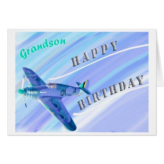 GrandsonHappy Birthday! Card