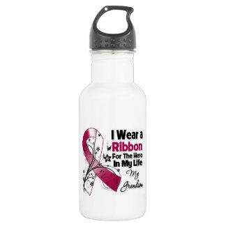 Grandson Hero in My Life Head Neck Cancer 532 Ml Water Bottle