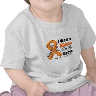 Grandson - Leukemia Ribbon Tee Shirts