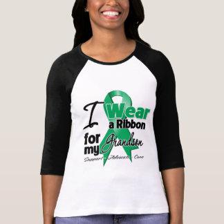Grandson - Liver Cancer Ribbon.png T-shirts