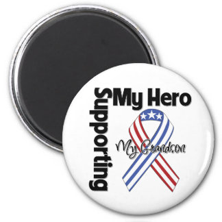 Grandson - Military Supporting My Hero Magnets