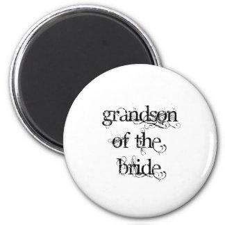 Grandson of the Bride Magnets