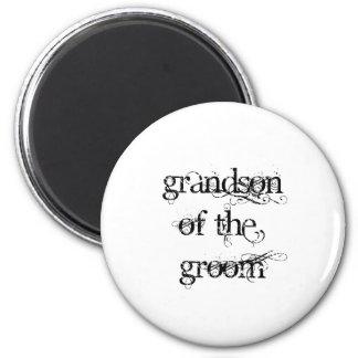 Grandson of the Groom Fridge Magnet