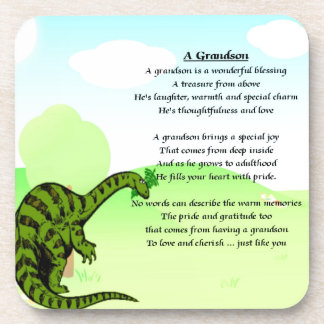 Grandson Poem - Dinosaur Coaster