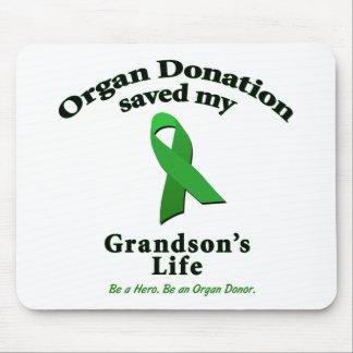 Grandson Transplant Mousepads