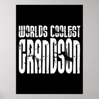 Grandsons Birthday Parties Worlds Coolest Grandson Print