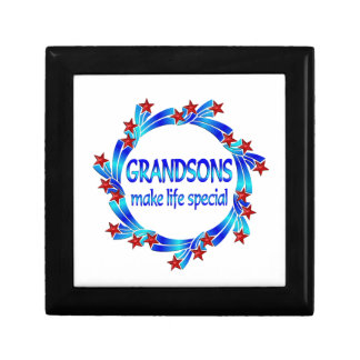 Grandsons Make Life Special Gift Box