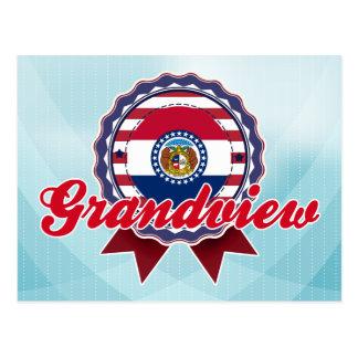 Grandview, MO Postcard