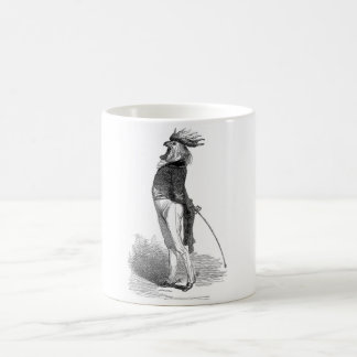 Grandville Anthropomorphic Rooster Mug