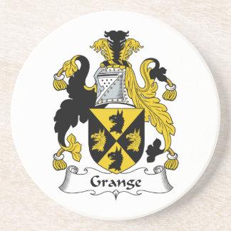 Grange Family Crest Coaster