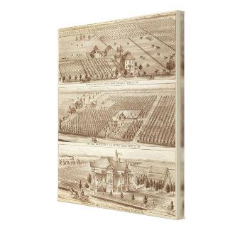 Grangeville, Armona ranches Canvas Prints