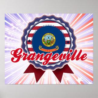 Grangeville ID Poster