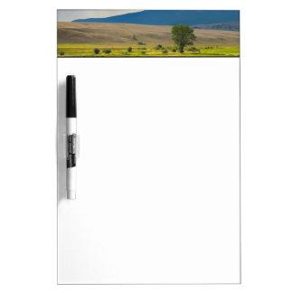 Granite County Montana Dry Erase White Board
