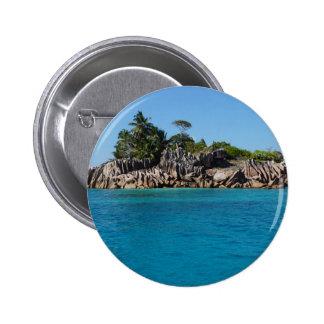 granite island 6 cm round badge