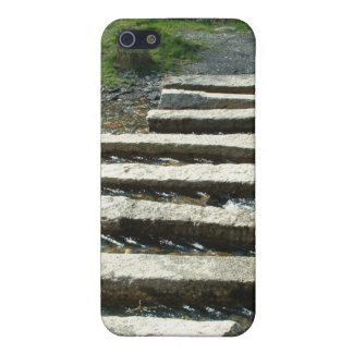 Granite Stepping stones across a river iPhone 5/5S Cover