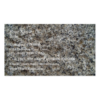 Granite  Stone Texture Detail Pack Of Standard Business Cards