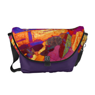 Granite Thin Section with Gypsum Plate Commuter Bag