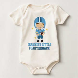 Grannies Little Quarterback Baby Bodysuit