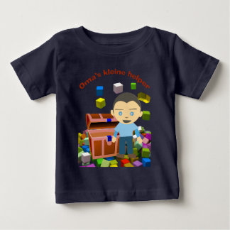 Grannies small assistant boy baby T-Shirt