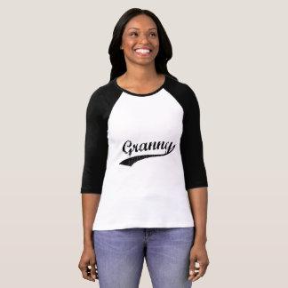 Granny Baseball Style T-Shirt