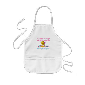 Granny Is My Name, Spoiling Is my Game Kids Apron