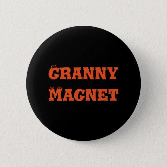 Granny Magnet Button
