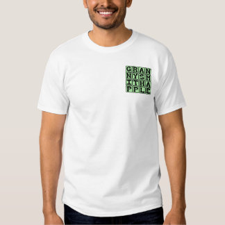 Granny Smith Apple, Color and Fruit T-shirt