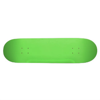 GRANNY SMITH APPLE GREEN (solid color) Skate Deck